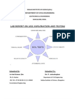 Soil Laboratory Testing Report by a K JHA