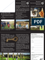 Border Archaeological Society leaflet