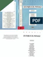 Collot_Les Enjeux Du Paysage
