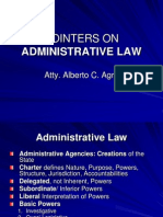 Admin Law Pointers