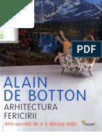 142929977 Arhitectura Fericirii VI Promisiunea Unui Camp Alain de Botton