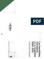 6872332 REGALSKY Las Inversiones Extranjeras en La Argentina 18601914