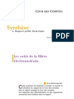 Synthese Rapport Thematique Filiere Electronucleaire