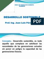 Desarrollo Sostenible. Clase 8