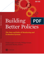 Building Better Policies