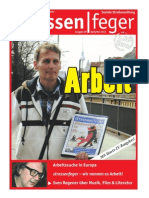 Arbeit - strassenfeger Ausgabe 09 2013