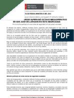 MINISTRO DEL INTERIOR SUPERVISÓ OCTAVO MEGAOPERATIVO EN SAN JUAN DE LURIGANCHO ESTA MADRUGADA