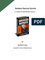 Timknox Success Secrets