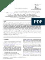o2 Consumption in Rat Incisor Pulp