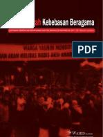 Laporan Kebebasan Beragama Dan Toleransi Twi 2011