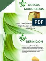 DIAPOSITIVAS QUESOS MADURADOS