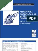 Alimentos y Tecnología de Modificación Genética