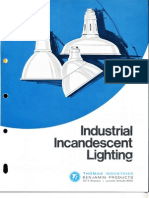 Benjamin Lighting Industrial Incandescent Brochure 1968