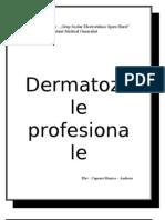 dermatoze profesionale