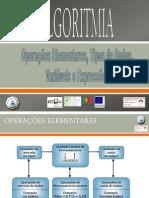 2 - Operações Elementares, Tipos de Dados, Variáveis e Expressões 2012
