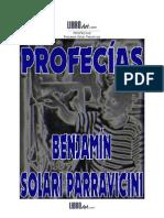 Solari Parravicini, Benjamin - Profecias 2