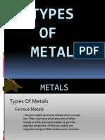 Type of Metals3