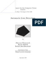 Automatic Line Detection With Hough Transform