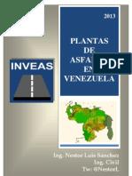 Plantas de Aslfato en Venezuela (INVEAS) - Ing. Nestor Luis Sanchez