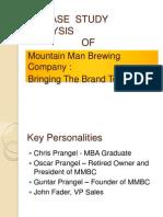 Mountain Man Brewing Company Case Study Analysis