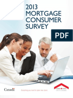 CMHC Mortgage Consumer Survey 2013