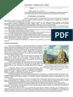 Guía Evaluada 1 - 8os 2013 - Renacimiento y Humanismo.docx