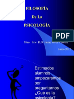 FILOSOFÍA PSICOLOGÍA