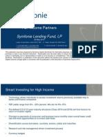 Symfonie P2P Lending Fund