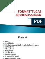 Format Tugas Kwu