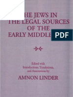 The Jews the Legal Sourses in the Middle Ages Amnon Linder