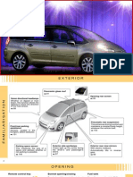 Citroen C4 PICASSO + Grand C4 PICASSO Owners Handbook