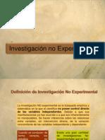 Investigacion No Experimental Cap 23 Kerlinger