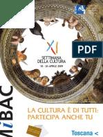 Settimana della Cultura 2009_Toscana