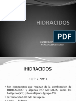 HIDRACIDOS
