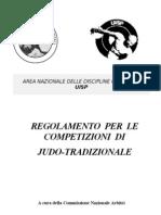 Regolamento Gare Judo Tradizionale