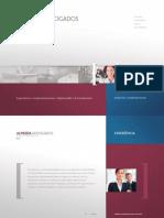 Folder Institucional Almeida Advogados - PT