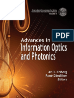 Advances in Information Optics and Photonics
