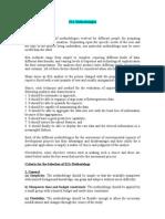 EIA Methodologies