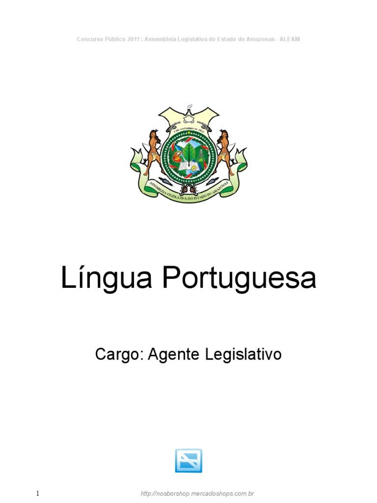 4abb2b4852 Portugues Agente Legislativo