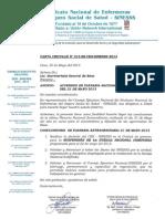 Carta Circular N°15-SG-CEN-SINESSS 2013