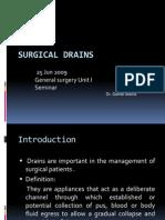 Surgical Drains Presentation 1 (2)