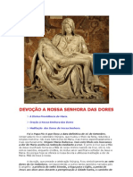 DEVOÇÃO A NOSSA SENHORA DAS DORES