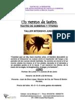 TALLER DE TEATRO DE SOMBRAS Y TÍTERES DEL 17 AL 20 DE JUNIO-2013