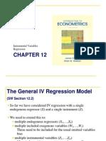 Lecture Econometric s