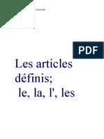 DOSSIER+LES+ARTICLES+DÉFINIS