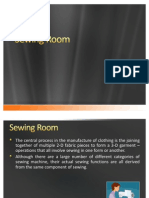 78588623 Sewing Room in Apparel Industry