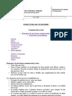 Estructura de Un Informe o Trabajo de Investigacio