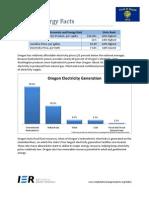 Oregon energy report