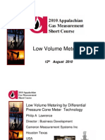 Low Volume Metering by Differential Pressure Cone Meter Technology