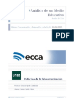 Analisis de Un Medio Educativo (Radio Ecca)